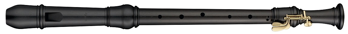 木製リコーダー メックリコーダー ロッテンブルグ合奏用 MOECK テナーリコーダー4427(B)エボニー/グラナディア
