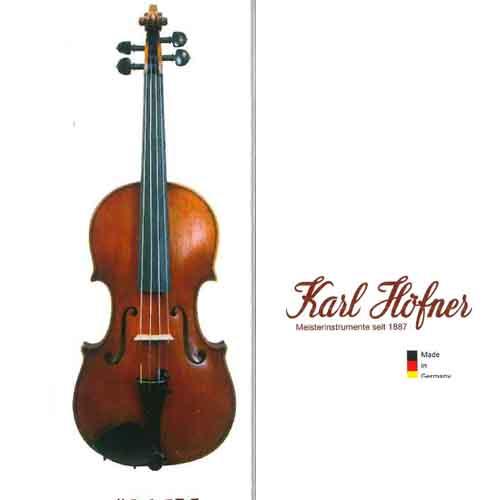 カールへフナー バイオリン#215V フルサイズ ドイツ製
