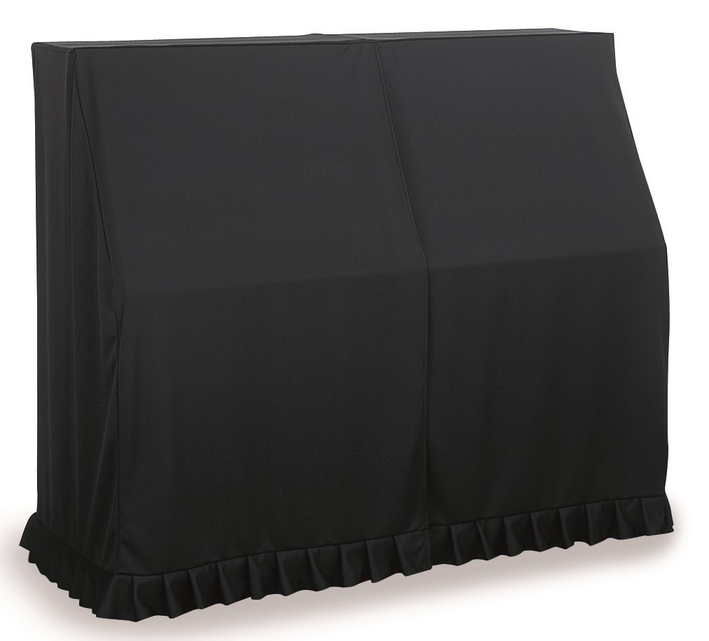 アップライトピアノカバーUP-PBL 130~140cm未満 ピアノフルカバー ブラック