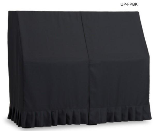 アップライトピアノカバー UP-FPBK 防炎 ピアノオールカバーブラック