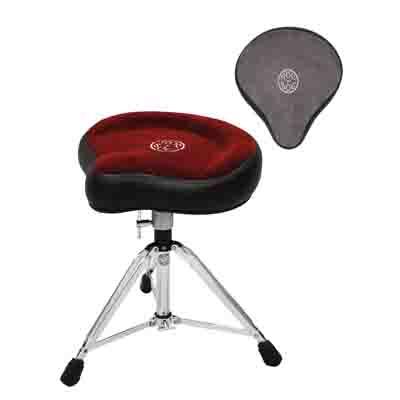 ドラムイス ドラムスローンロックンソック マニュアルスピンドル ハガー シート形状小形サドル カラー