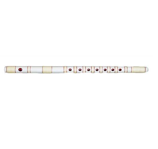 篠笛 三本調子 獅子田 竹渓 塗り仕上げ 本重白 大塚竹管楽器 七つ穴 六つ穴