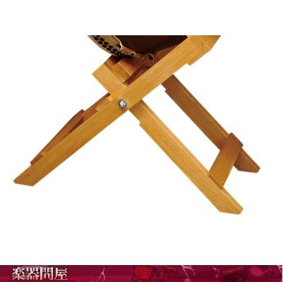 和太鼓長胴太鼓用 折りたたみ台OTD130 1尺3~4寸用/高さ (62)