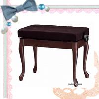【信頼の吉澤・日本製】 優しい布張り! ピアノ椅子  Y-50N 【黒】 【送料無料!】
