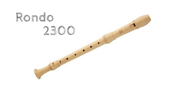 メック リコーダー 定番機種【ロンド合奏用】 アルトリコーダー 2300