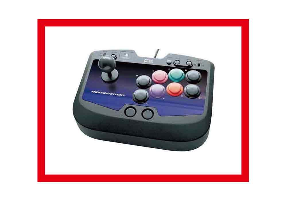 【新品】(税込価格)PS2 ファイティングスティック2 (HORI製)★新品未使用ですが、外箱に少しよごれ、きず、黄ばみ、等がございます。