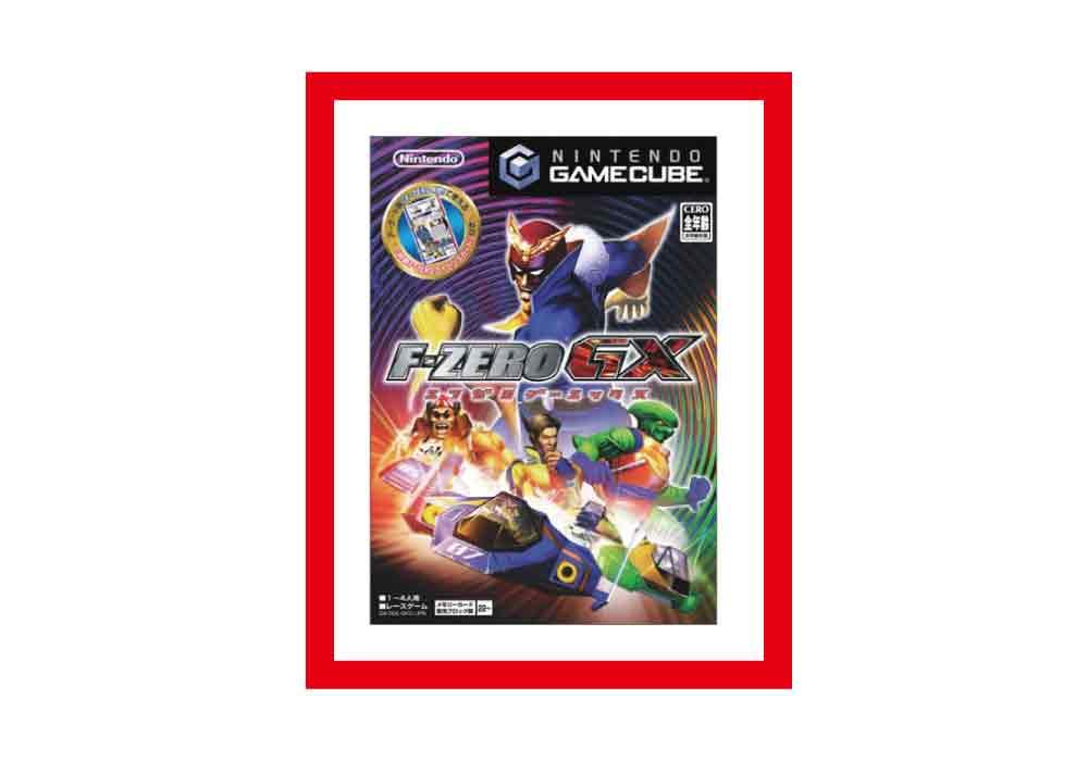 【新品・未使用】(税込価格) GC ゲームキューブソフト F-ZERO GX (エフゼロGX)