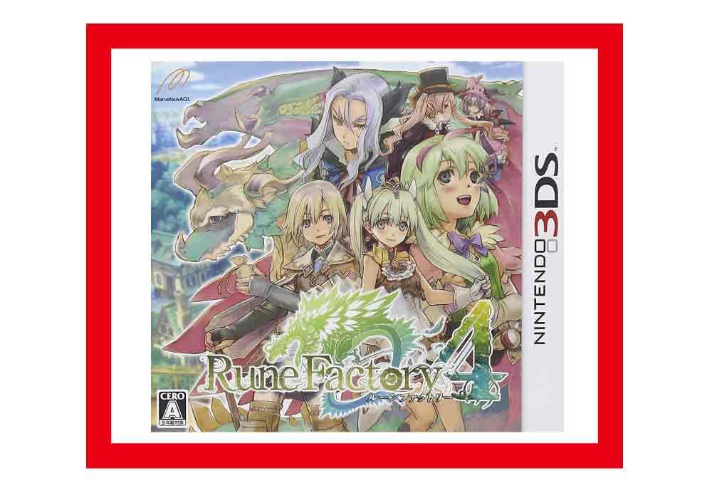 【新品】(税込価格)3DS ルーンファクトリー4 (通常版)