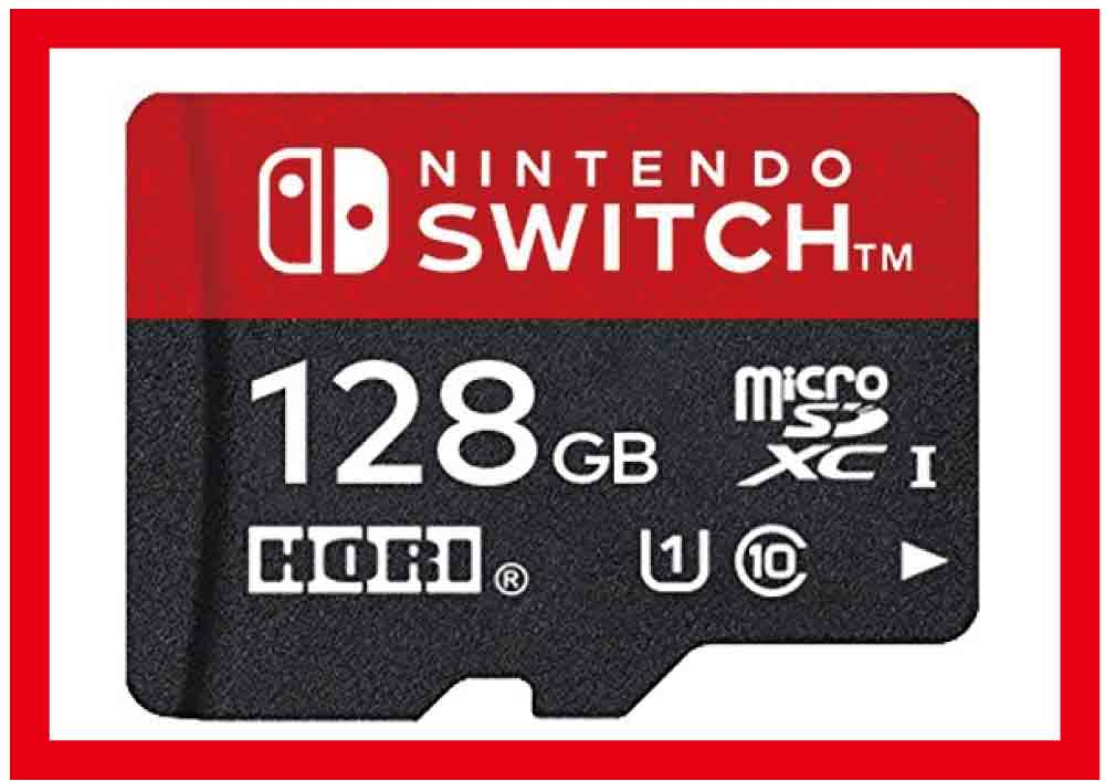 【新品】(税込価格)Nintendo Switch用 マイクロSDカード128GB for Nintendo Switch 【任天堂正式ライセンス商品】(HORI製)