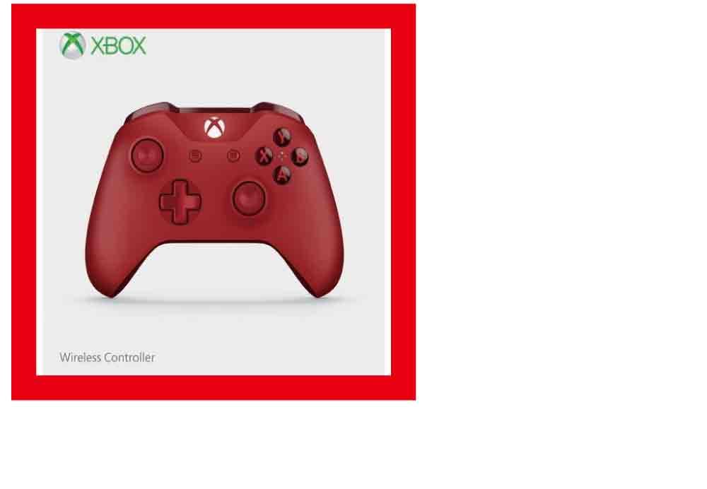 【新品】(税込価格)XboxOne ワイヤレスコントローラー (レッド)
