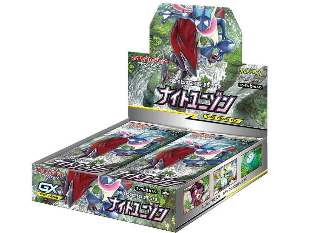 【新品】(税込価格) ポケモンカードゲーム サン&ムーン 強化拡張パック ナイトユニゾン 1BOX(30パック入り)