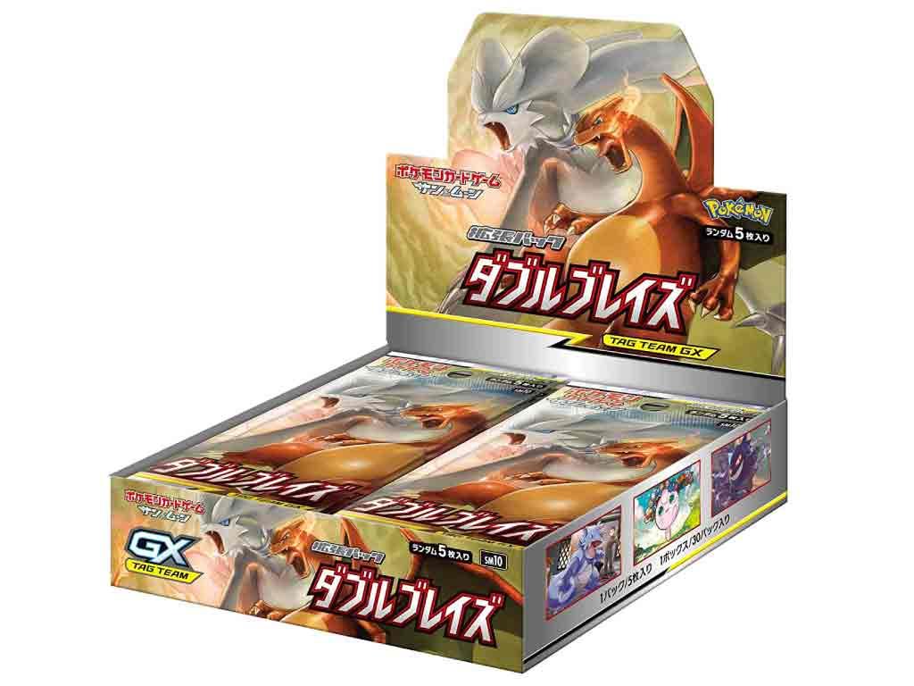 【新品】(税込価格) ポケモンカードゲームサン&ムーン拡張パック ダブルブレイズ 1BOX(30パック入り)