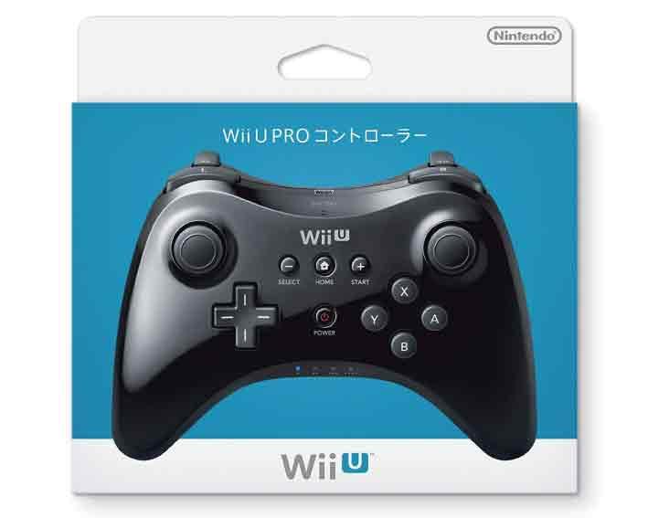 【新品】(税込価格) WiiU PROコントローラーkuro【黒】/新品未使用品ですがパッケージに少し傷み汚れ等がある場合がございます。