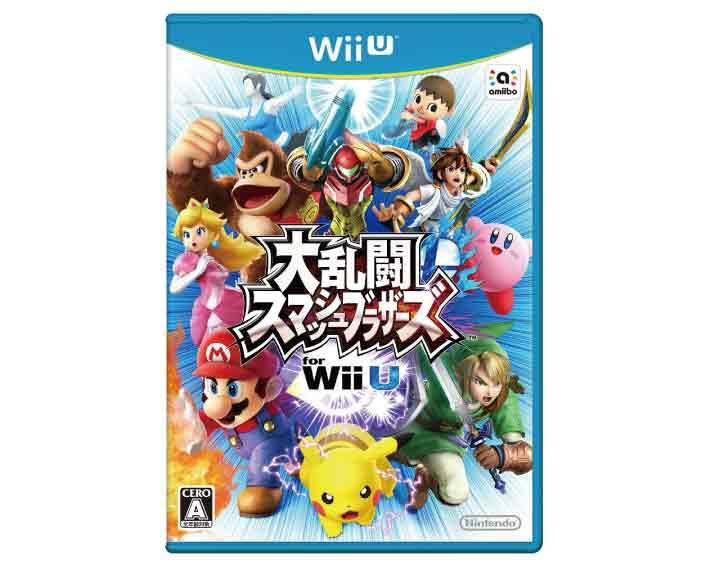 【新品】(税込価格) WiiU 大乱闘スマッシュブラザーズ for WiiU