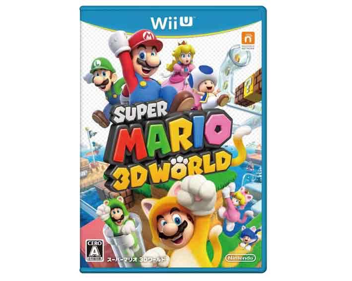 【新品】(税込価格) 【新品】(税込価格)WIIU スーパーマリオ 3Dワールド◆