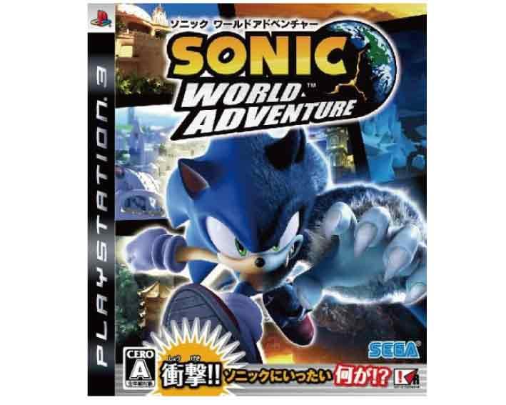 【新品】(税込価格) PS3 ソニックワールドアドベンチャー (SONIC WORLD ADVENTURE)
