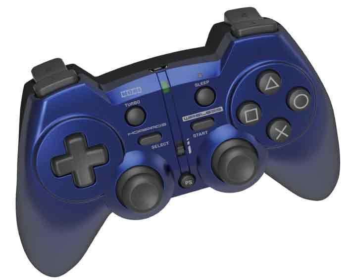 【新品】(税込価格) PS3 ホリパッド3ワイヤレス ブルー/外箱に少し傷み汚れ等がある場合がございます。
