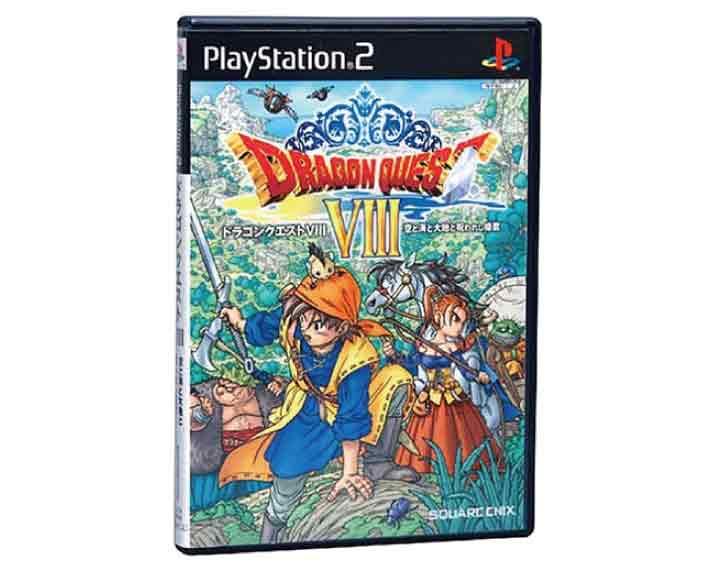 【新品】(税込価格)PS2 ドラゴンクエストVIII空と海と大地と呪われし姫君(ドラゴンクエスト8)【通常版】/新品ですがパッケージに少し傷みシュリンク破れ汚れ等がございます。