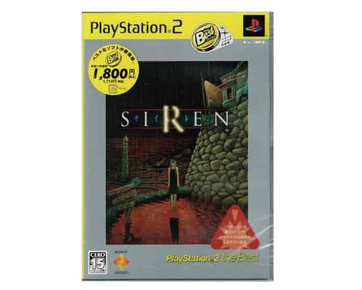 【新品・未使用・未開封・正規品】(税込価格) PS2 SIREN サイレン BEST版