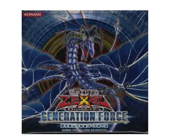 【新品】 (税込価格) 遊戯王ゼアルOCG ジェネレーションフォースGENERATION FORCE 1BOX (30パック入り)