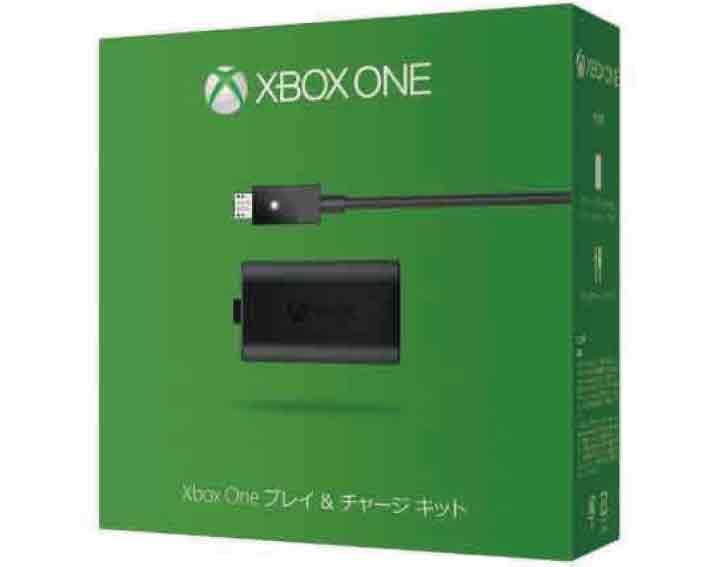 【新品】(税込価格)Xbox One プレイ&チャージキット (マイクロソフト国内正規純正品)