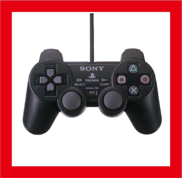 【新品】(税込価格) PS2 アナログコントローラ DUALSYOCK2 (デュアルショック2) ブラック SCPH-10010【SONY純正国内正規流通品】★新品未使用品ですが、外パッケージに少し傷み汚れ等がある場合がございます。