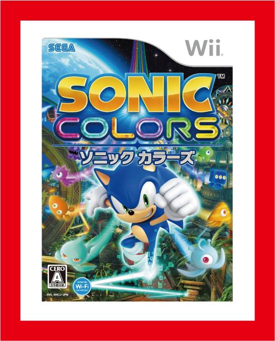 新品】(税込価格) Wii ソニックカラーズ (SONIC COLORS)