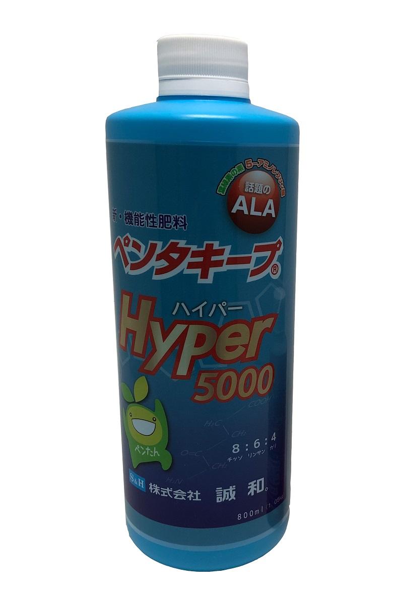 ペンタキープHyperの1.05kg、800mlです。 液体肥料 液肥 ペンタキープ Hyper5000 1.05kg(800ml) ala 液 肥料 液体 ala(5-アミノレブリン酸) 5-アミノレブリン酸 光合成 観葉植物 送料無料