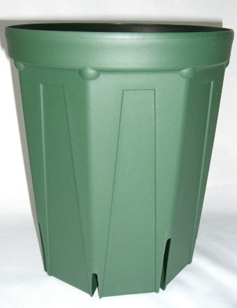 【送料無料】スリット鉢 プラ鉢 24cm ロングタイプ 96個 植木鉢 鉢 バラ ばら 薔薇