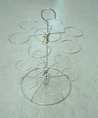 富貴蘭 吊枠 12個掛け 3~3.5号用 植木鉢 鉢 蘭 らん ラン 富貴蘭 長生蘭 園芸