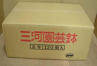 洋蘭 素焼き鉢 3.0号 120枚 【送料無料】 植木鉢 鉢 蘭 らん ラン  園芸