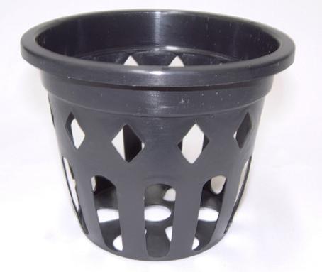 穴鉢 10.5cm 黒 10個 富貴蘭 高い素材 洋蘭 サボテン オリジナル 原種 多肉植物