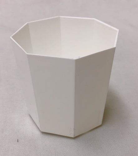 超安い プラ鉢 2Y 白 10個セット 多肉 山野草 サボテン 上等 八角形