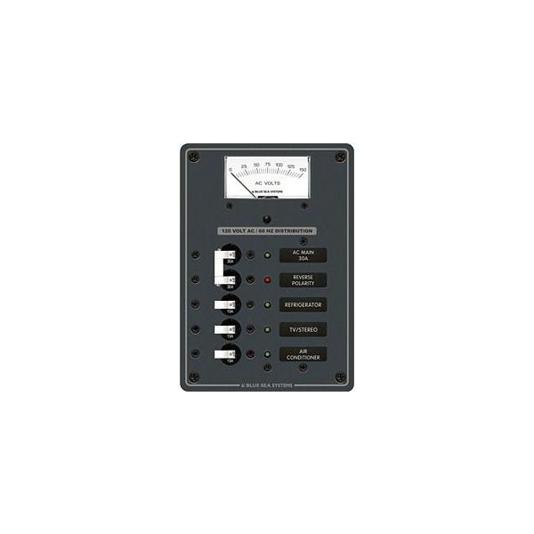 ACサーキットブレーカー付スイッチパネル・3P 8043