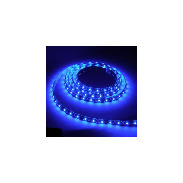 防水ソフトストリップLEDライト 12V ブルー