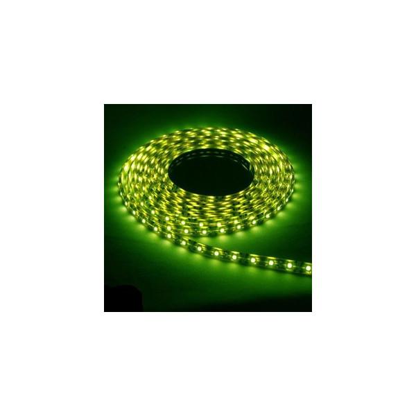 防水ソフトストリップLEDライト 12V グリーン