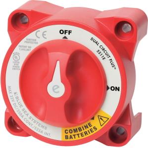 バッテリースイッチ ES デュアルバッテリースイッチ 5511e ボート用品 電装品 送料無料