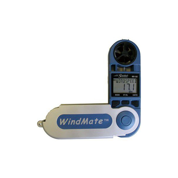 イベントの風速測定などに最適な風速計 風向計 ウインドメイト100 航海計器 秀逸 買物 ボート用品 野外イベント 送料無料 風速測定