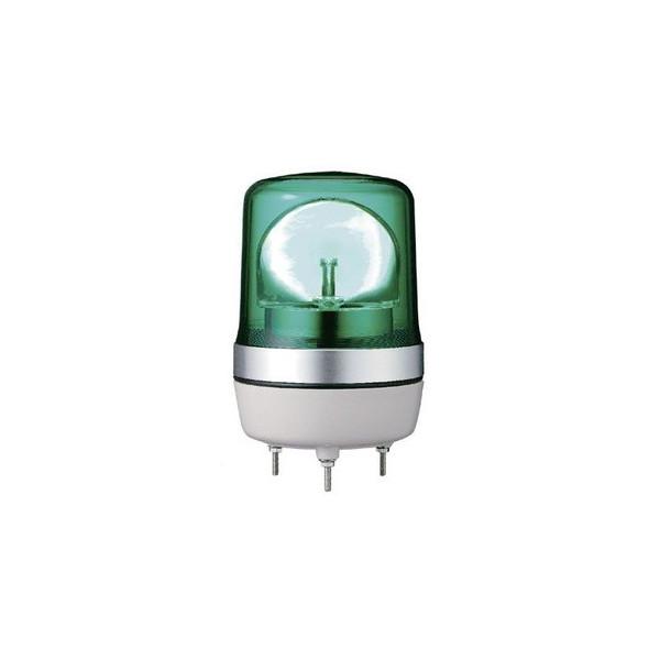 小型LED回転灯 PKL-106 グリーン DC24V