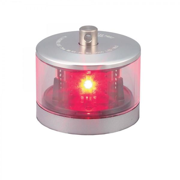 送料無料 LED航海灯 ノーチライト 第2種紅灯 シグナルライト NLSA-2R NAUTILIGHT