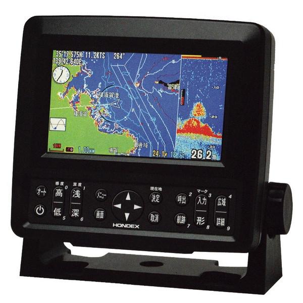 魚群探知機 HONDEX 5型ワイドカラー液晶プロッター魚探 HE-601GPII
