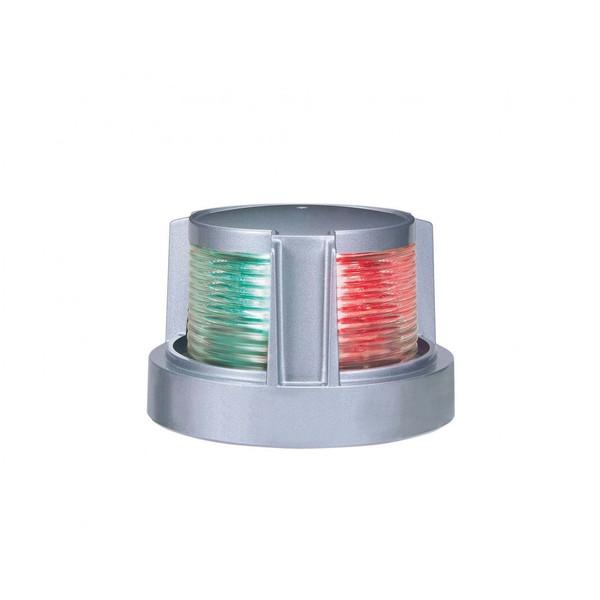 送料無料 LED航海灯 KOITO 第2種両色灯 バウライト MLB-5AB2S シルバーボディ 小糸製作所