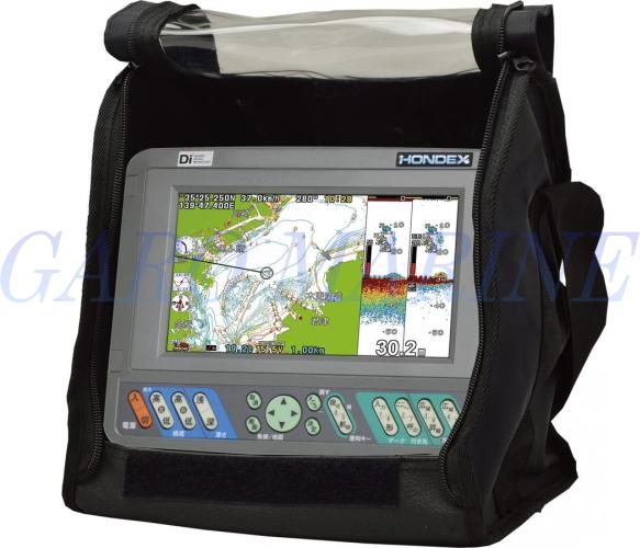 ホンデックス 魚群探知機 HONDEX 7型ワイド液晶 GPSアンテナ内蔵 プロッターデジタル魚探 PS-700GP-Di(s) バリューセット 送料無料
