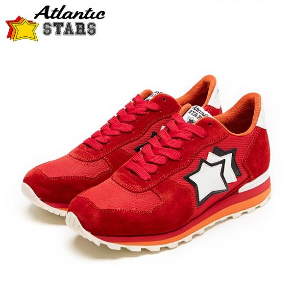 Atlantic STARS(アトランティックスターズ)ANTARES アンタレス FR-PR-LARB レッドビブラムソール メンズ スニーカー