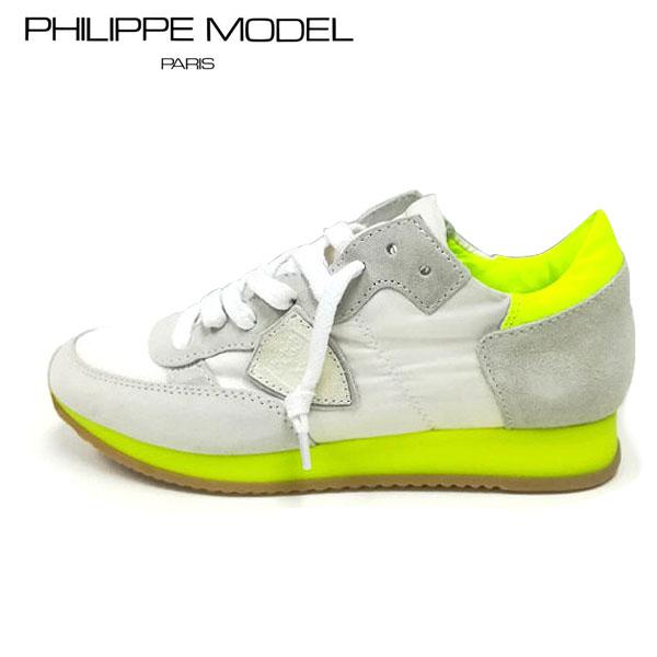 PHILIPPE MODEL(フィリップモデル)PM-TRLD NS01サイズ38(約24.0cm~約24.5cm)イエロー レディース スニーカーカジュアルスニーカー フランス