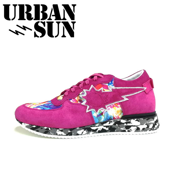 URBAN SUN(アーバンサン)ANDRE 086 ピンク メンズ スニーカー アンドレ カジュアルスニーカー