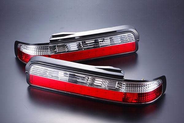 【D-MAX】S13 SILVIA LEDクリスタルテール (左右セット)