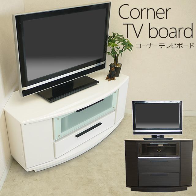 new products 97656 ad035 auc-gekiyasu: (100 tall corner TV stand), space-saving slim ...