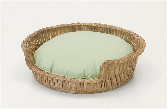 ペットベッド R-282 ブラウン 籐 籐家具 ペットベッド 和風リビングルーム籐 ラタン 製 輸入品 完成品