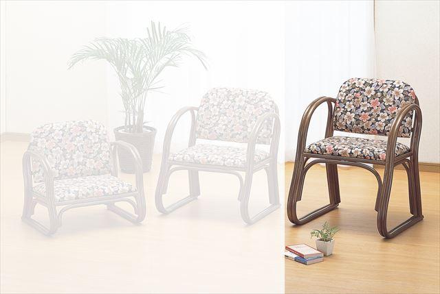 籐思いやり座椅子 メーカー公式ショップ ハイタイプ S-213B 籐 籐家具 座椅子 椅子 イス和風リビングルーム籐 ラタン 製 メーカー公式 完成品 和風リビングルーム籐 ブラウン イス 輸入品